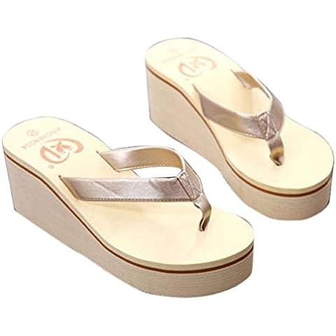 Fortan Vibrazione di estate sexy delle donne di cadute sandali