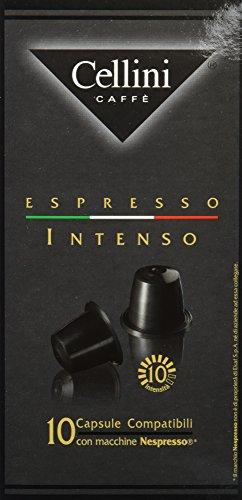 Cellini Espresso Intenso 10 Kapseln, 5er Pack (5 x 50 g)