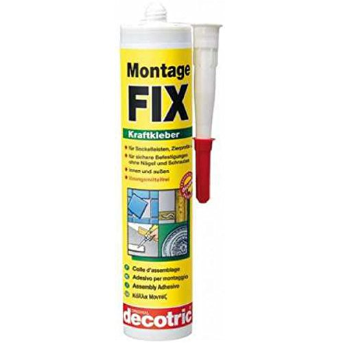 Decotric Montage-Fix, Montage - Kleber