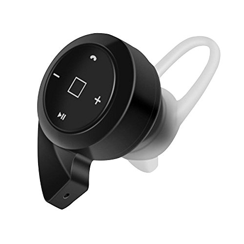 Cuitan Universale Mini Wireless Senza Fili Bluetooth 4.1 Auricolare In-ear Stereo Musica / Chiamata Cuffia Cancellazione di Rumore Earbud Cuffie Headphone Headset Earphone per iPhone, iPad, Samsung, Xiaomi, Huawei, Lenovo, HTC, LG, Motorola, Meizu e Altro Bluetooth Smart Phones con USB Cavo e Earhook - Nero