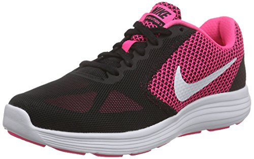 Nike Wmns Revolution 3, Scarpe Running Donna, Rosa (Hyper Pink/White/Black), 38 EU