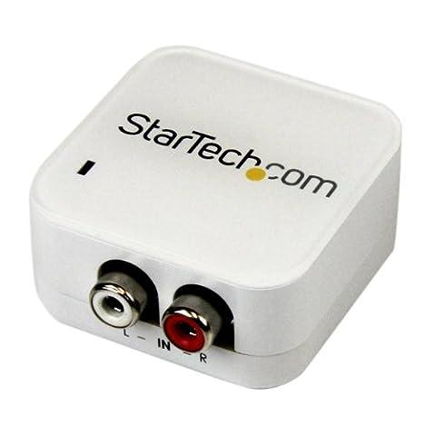 StarTech.com AA2SPDIF RCA stéréo pour coaxial numérique SPDIF et convertisseur audio Toslink