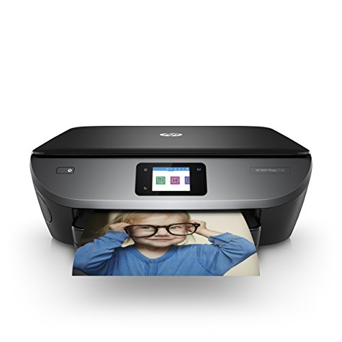 HP ENVY Photo 7130 Multifunktionsdrucker (Instant Ink, Drucken, Scannen, Kopieren, WLAN, Airprint) inklusive 4 Monate Instant Ink