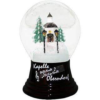 Alexander Taron Importer Perzy Snowglobe, Medium Silent Night-5