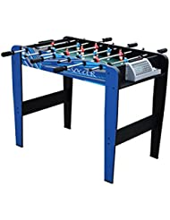 Mightymast Leisure Kids 'Shooter Table de football, Bleu, 0,9m