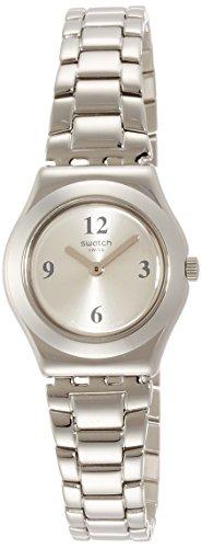 Orologio Swatch quarzo donna acciaio MORE SILVER KEEPER YSS296G