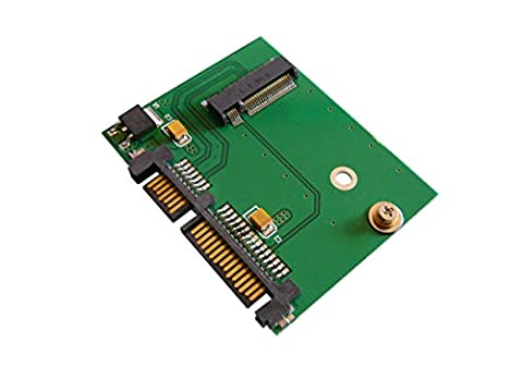 KALEA-INFORMATIQUE © - Adaptateur M.2 (M2 NGFF B+M Key) vers SATA 3.0 - Format COURT (Sandisk Modello)