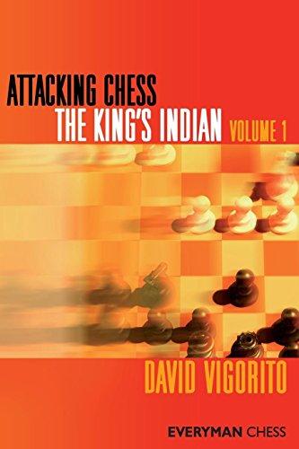 Attacking Chess: King's Indian, Volume 1 (Everyman Chess Series) por David Vigorito