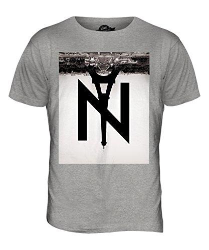 CandyMix New York A Parigi T-Shirt da Uomo Maglietta Marne Grigio