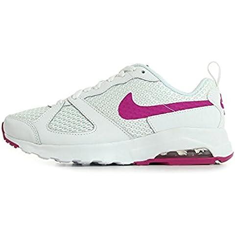 Nike Air Max Muse - Zapatillas de Piel para mujer Blanco blanco