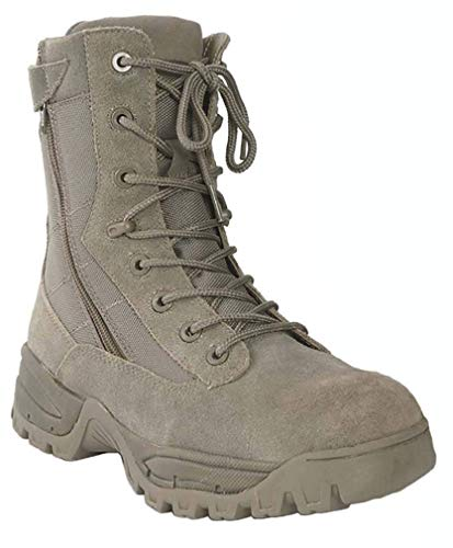 Mil-Tec Tactical Boot Two-Zip Foliage Gr.9 Tactical Military Boots