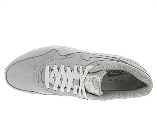 Nike Air Max 1 Ltr Premium, Chaussures de Running Entrainement Homme Gris