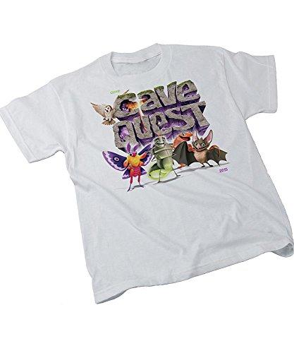 Cave Quest Theme T-Shirt Adult Lg 42-44