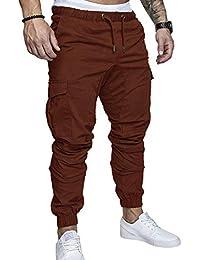 à Jogging la coton Mode survêtement taille long Sport SOMTHRON Homme Ceinture pantalons Plus élastique de qXBtY
