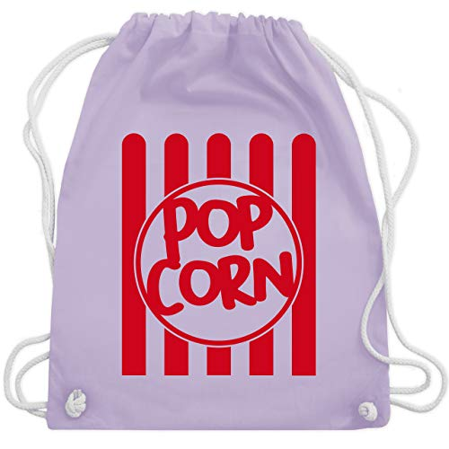 Gruppe Nette Kostüm - Karneval & Fasching - Popcorn Karneval Kostüm - Unisize - Pastell Lila - WM110 - Turnbeutel & Gym Bag