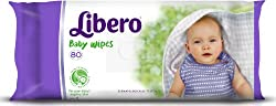 Libero Baby Wet Wipes (80 Counts)