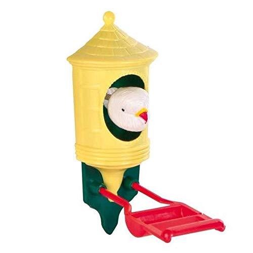 EQT-TEC Vogel Spielzeug Spielhaus Vogelhaus 12 cm Vogelspielzeug für zb Vogelkäfig