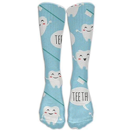 REordernow Dental Teeth Graduated Compression Socks For Men & Women Best Stockings For Nurses, Travel, Running, Maternity Pregnancy Socken