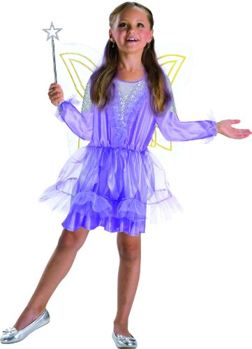 (Gurimo-Tex 100277 Karneval Kostüm Elfe, Mädchen, Lila, 140)