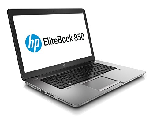 HP EliteBook 850 G1 15,6 Zoll 1920x1080 Full HD Intel Core i5 512GB SSD Festplatte 8GB Speicher Win 10 Pro Webcam Tastaturbeleuchtung G6K68EC Notebook Laptop (Generalüberholt)