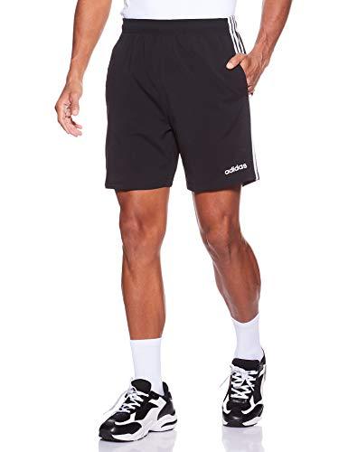 adidas Herren Essentials 3-Streifen 7 Zoll Shorts, Black/White, M