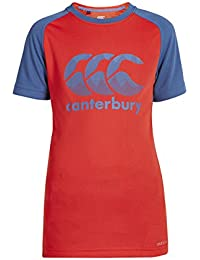Canterbury Vapodri Poly Logo Boys' Training T-Shirt - SS17