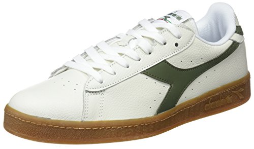 Diadora Zapatillas Game L Low Waxed Blanco/Verde EU 40 (6.5 UK) 2quy6YyACF