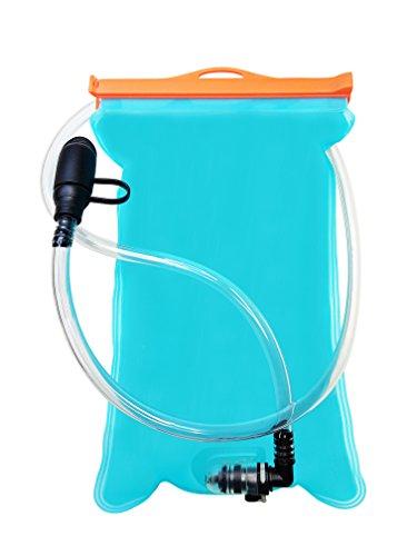 Atacama Trinkblase 2L mit Beissventil, Version 2018, aus hochwertigem TPU, BPA-frei, antibakteriell und auslaufsicher, passt in jeden Trinkrucksack
