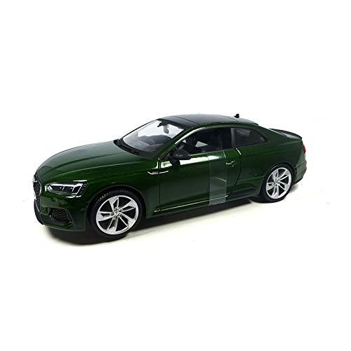 Bburago 15621090GR BB - Maqueta de Audi RS 5 Coupé (Escala 1:24), Color Verde