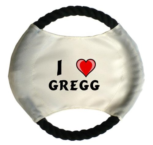 personalised-dog-frisbee-with-name-gregg-first-name-surname-nickname