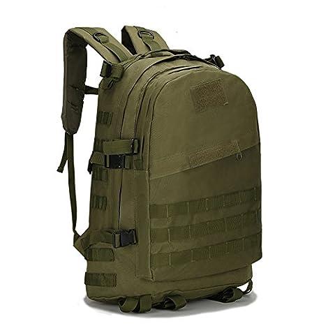 Fastar 40ltactical militaire Sac à dos/sac à dos/sports d'extérieur militaire Sac/Compact Lot/Summit Sac pour la chasse Camping Randonnée Trekking, vert militaire