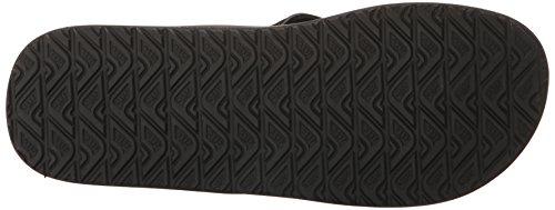 Reef Herren Contoured Cushion Sandalen Schwarz (Black)