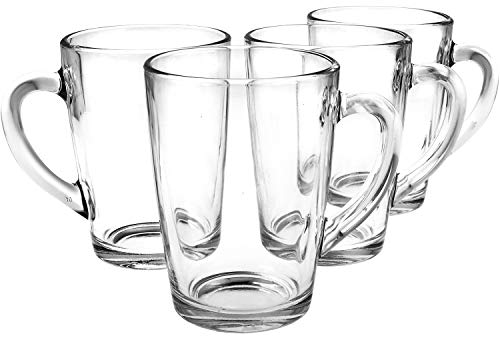COM-FOUR® 4x Teeglas - Trinkgläs...
