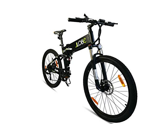LLobe Marken Elektro Fahrrad E-Bike 26\' Alu Klapprad Falt-Mountainbike - 36V/250 Watt