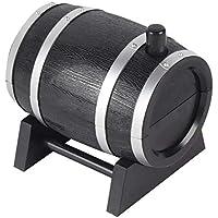 1 STÜCK Kreative Tragbare Mini Automatische Weinfass Geformt Zahnstocher Halter Kunststoff Box Container Dispenser Zahnstocher Halter