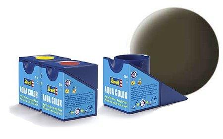 revell-black-green-matt-colori-acrilici-18ml-vaso-di-aqua-modello-colore-della-vernice-per-la-modell