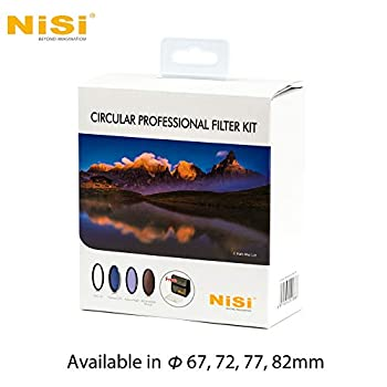 NiSi 77mm Filter Set - Professional Kit (UV Protector + Polarizing Filter + Natural Night Filter + ND1000 + Filter Pouch + Cleaner)