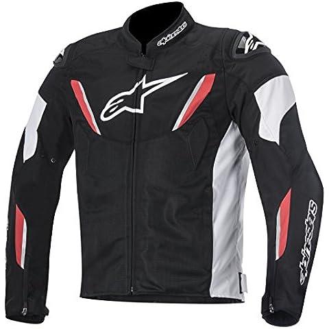 Alpinestars T-GP R Air de la calle de moto para hombres chaquetas–negro/blanco/rojo
