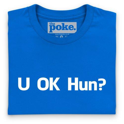 OK Hun T-Shirt, Damen Royalblau