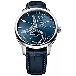 Maurice Lacroix obra maestra Lune Rétrograde reloj automático, azul, ML192