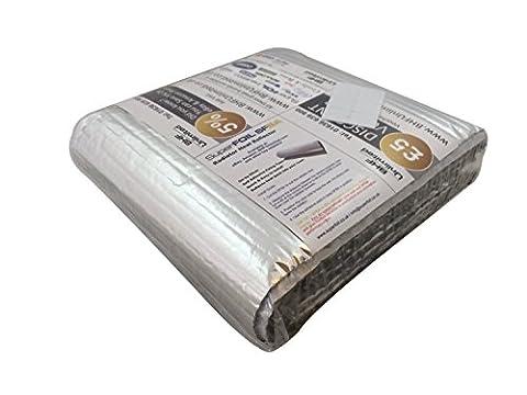 Superfoil radpack 5m x 60cm energiesparend Reflektor Heizkörper Folie Isolierung (Heizkörper Isolierung)