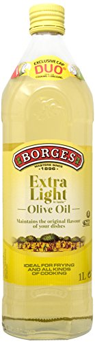 Borges Olive Oil-Extra Light in Taste, 1L