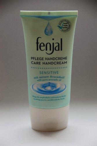 Crème pour les mains Fenjal huile Sensible / 75ml / avocat / pour les mains sèches et sensibles