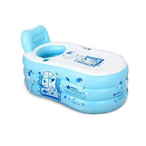 Einfach Machen Babys Zu Kostüm - Einfache aufblasbare badewanne Adult Bath Hause badewanne Eimer Kunststoff Bad Eimer Falten Dicker