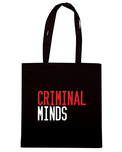 T-Shirtshock - Borsa Shopping OLDENG00455 criminal minds Nero