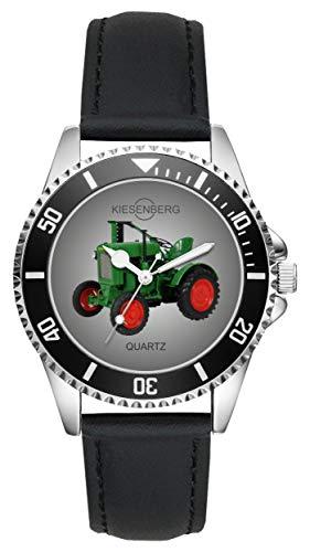 Geschenk für Deutz F1 M414 Traktor Oldtimer Fans Fahrer Kiesenberg Uhr L-2680