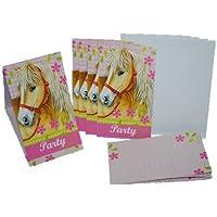 Set Pferd Einladungskarten Mit Umschlag Einladung Karte Karten