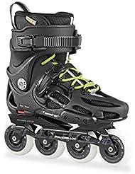 Rollerblade Twister 80 - Patín en Línea, Unisex Adulto, color Negro (Black/Grey), talla 43