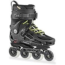 Rollerblade Twister 80 - Patín en Línea, Unisex Adulto, color Negro (Black/Grey), talla 42