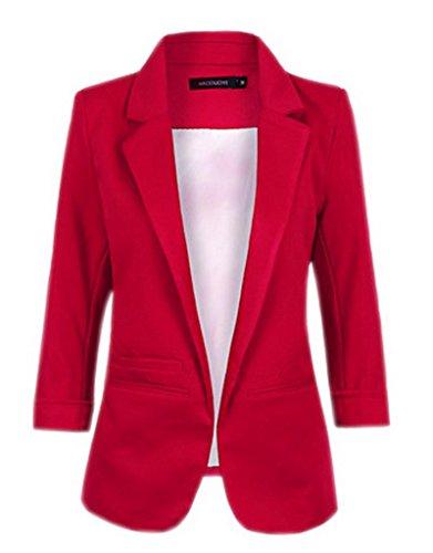 La Vogue-Donna Giacca Primavera di Poliestere Abbigliamento Femminile Casual (#2